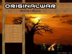Arabian Nights Main Menu