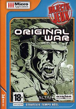 French re-release Original War Cover